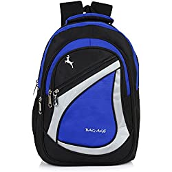 Bag-Age Spicy Large 30 (L) Voilet School Backpack