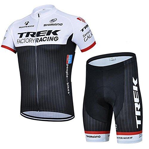 Strgao 2016 Herren Pro Rennen Team Trek MTB Radbekleidung Radtrikot Kurzarm und Radhosen Anzug Cycling Jersey Shorts suit