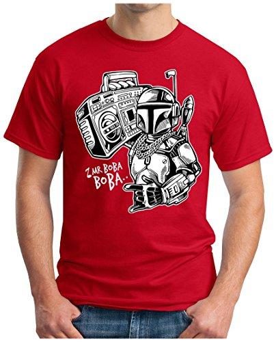 OM3 - MR-BOBA-BOBA - T-Shirt, S - 5XL Rot