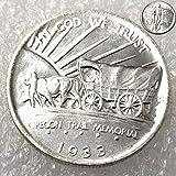 FKaiYin 1933 Old Liberty Morgan Half-Dollars Replik Medaille - American Gedenkmünze - Morgan Dollars Eagle Old Coins - Entdecken Sie die Geschichte der US-Münzen Zukunft. -