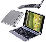 Navitech 686 Tablet-Schutzhülle, slim- Huawei Mediapad X2 Tablet-PC, silberfarben