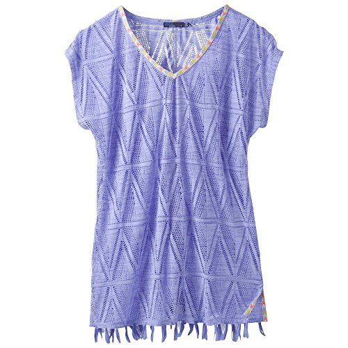 prAna seabrooke Tunika Swim COVERUPS Wildflower Purple