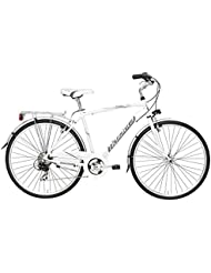 SITY 3 MAN 6 V. CICLI ADRIATICA Bicicleta Hombre CITY BIKE () Color Blanco