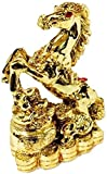 Ripe India Single Horse Gold Color 6 - cm