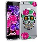 kwmobile Coque Apple iPhone 6 / 6S - Coque pour Apple iPhone 6 / 6S - Housse de téléphone en Silicone Multicolore-Transparent