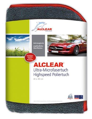 ALCLEAR 822203H Highspeed Poliertuch Trockentuch 40x40 cm 1.200 gsm extra dick flauschig weich