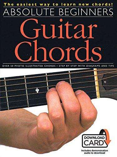 Absolute Beginners: Guitar Chords (Book & Online Audio)