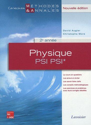 Physique PSI PSI* 2e année
