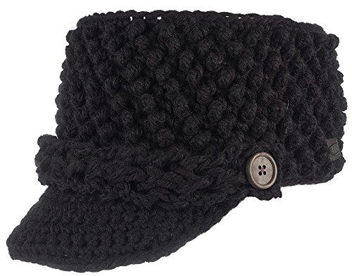 SINNER Erwachsene Taos Cap Stirnband Mütze, Black, One Size, SIWE-126-10