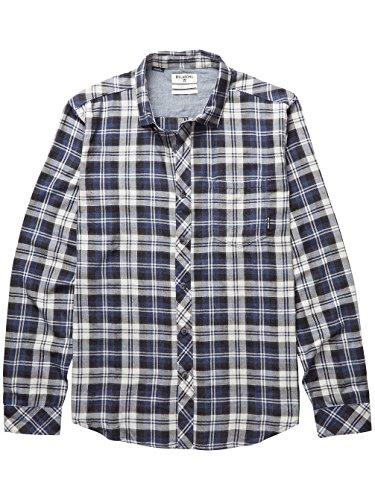 Herren Hemd lang Billabong Fremont Flannel Hemd Silver Heather