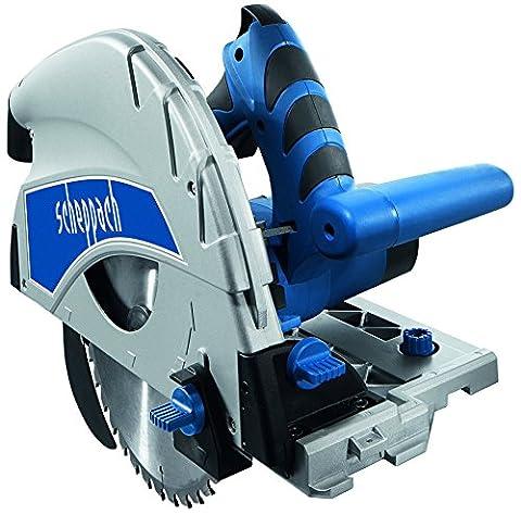 Scheppach 5901804901 Scie Plongeante PL 75 50 Hz, 230 V, Bleu