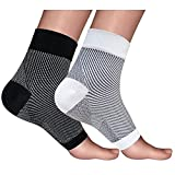 2 Paar Kompression Socken für Sport Running Circulation Flug Reisen Krankenschwestern Fußball & Recovery (Männer & Frauen) -2 Farben