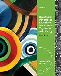 Quality and Performance Excellence by James R. Evans (2013-04-01)