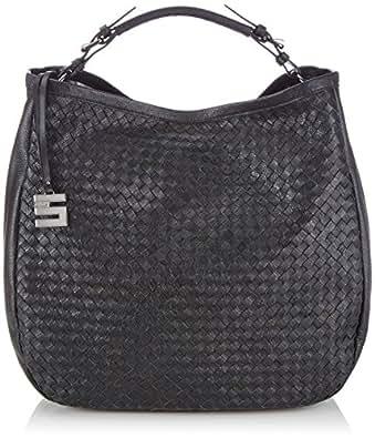 CINQUE Women's Cosma Beutel Handbag Black Size: Dimensions (W x H x D): 38 x 39 x 16 cm