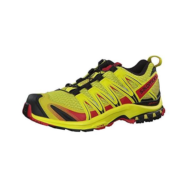 0641e9cfd Salomon XA Pro 3D, Zapatillas de Senderismo para Hombre, Amarillo ...