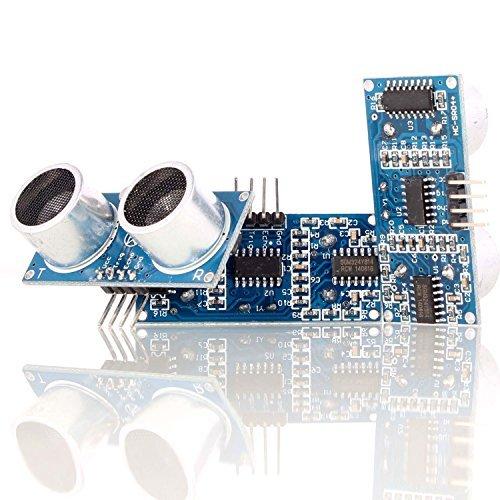 Modul Ide 40-pin (Aukru 3x Ultraschall Modul HC-SR04 Abstand Distance Sensor für Raspberry pi arduino)