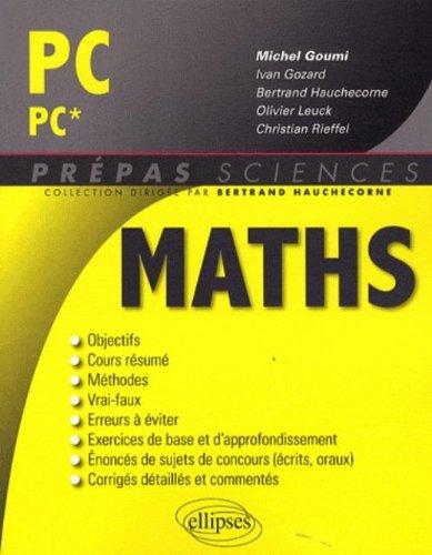 Maths PC-PC*