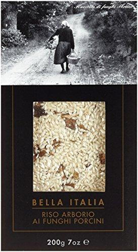Antico Pastificio Umbro Riso Arborio ai funghi procini 'Bella Italia' - Risotto mit Steinpilzen, 4er Pack (4 x 200 g)