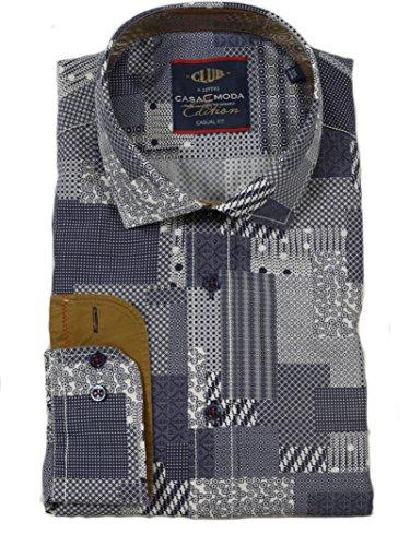 CASAMODA Herren Freizeithemd 462403300 Weiß