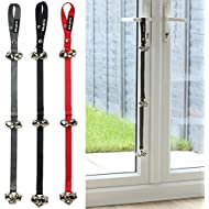 Me & My Pets Dog/Puppy Toilet Training Bells - Hangs from Door - Choice of Colour