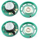 0.25W 32 Ohm Kunststoffgehäuse 27mm Durchmesser Magnet Lautsprecher 4Pcs