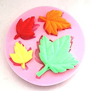 Cake Decorating Stockists Uk : Allforhome 4 Leaves Cake Decorating Buttonwood Tree Leaves ...