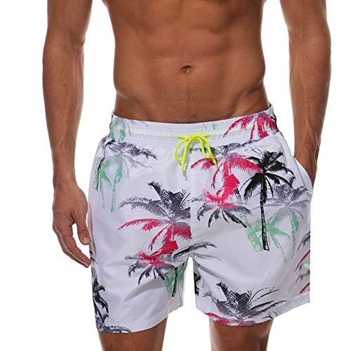 ZHAOSIXI Pantalones Playa Junta Cortos Hombre Bañadores