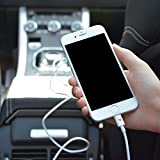 iPhone Cable 2m/6.5ft RAMPOW Lightning Cable - [Apple MFi Certified] - LIFETIME WARRANTY - iPhone 6 Charger - iPhone Charger for iPhone 6S Plus 6 Plus 7 Plus 5 5S 5C SE, iPad Pro Air, iPad Mini 2 3 4, iPod - iOS10 - White