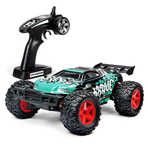 LBLA Ferngesteuerte Autos für Draussen, RC Auto Elektrisch 4WD 1 12 RTR 30km/h, 2.4ghz RC Offroad Buggy, Schnelles Ferngesteuertes Auto für Kinder und Erwachsene (Grün)*