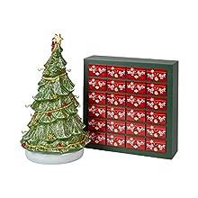 Villeroy&Boch Christmas Toys Memory Advent Calendar Set, Including Tree, 26 Pieces, One Size, Multi 14-8602-9598