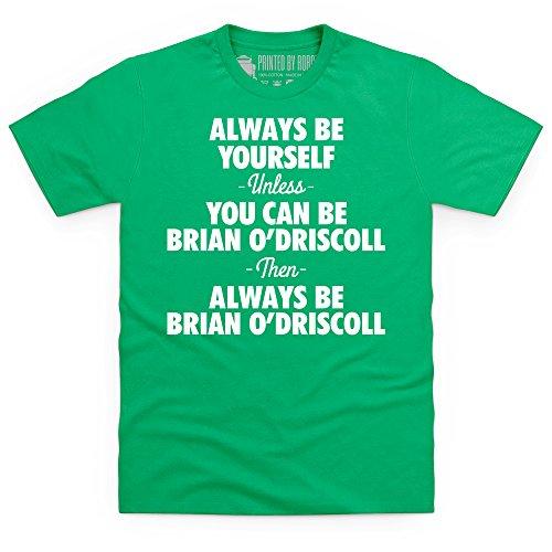 Be Brian O'Driscoll T-Shirt, Herren Keltisch-Grn