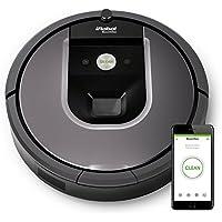 iRobot Roomba 960 Robot Aspirapolvere, Grigio