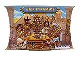 Bier Pyramide - Das legendäre Trinkspiel, lustiges Partyspiel für Erwachsene Karten-Spiel / Katertag Trinkspiele (56 Karten, Schwarz)