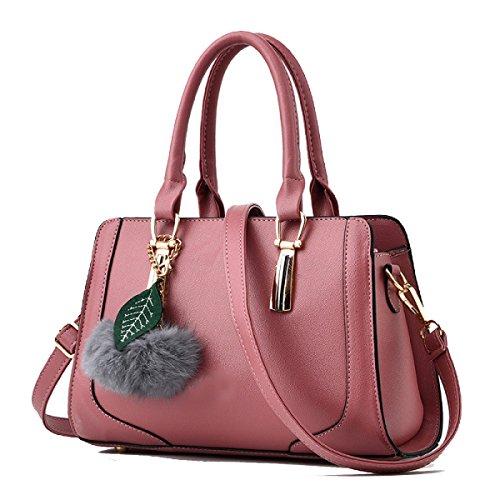 WU ZHI Borsa Selvaggia Della Borsa Della Madre Di Middle Age Della Borsa Della Signora New Fashion Purple