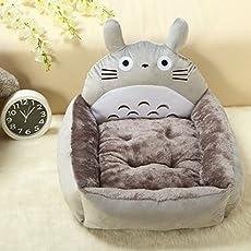 Colorfulhouse® Niedliche Totoro Design Haustierbett für Kleine bis Große Hunde