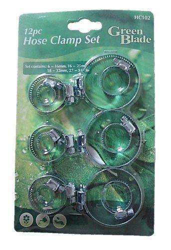 Green Blade 12 colliers de serrage