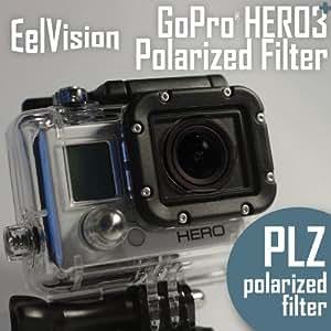 EelVision Filtre Polarisant pour GoPro HERO4 HERO3+ HERO3 / Polarizer