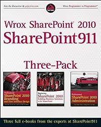 Wrox SharePoint 2010 SharePoint911 Three-Pack
