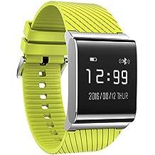 zhuotop x9plus OLED corazón tasa presión sanguínea de oxígeno en sangre pulsera pulsera de reloj inteligente