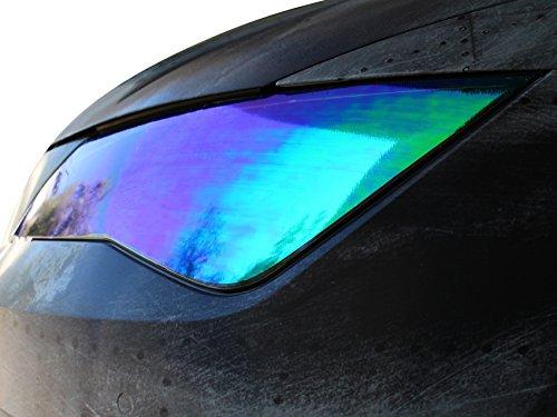 RLS Scheinwerfer Folie Chamäleon (30x100cm) von Finest-Folia Tönungsfolien Tint Rückleuchten Nebelscheinwerfer (RLS84)