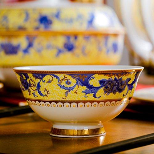 Yxsd Couverts en Porcelaine, Grand Bol en Porcelaine européenne, 4,5 Pouces