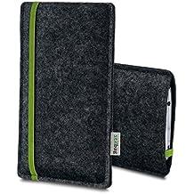 Stilbag Etui Feutre 'LEON' pour LG G5 SE - Couleur: vert-anthracite
