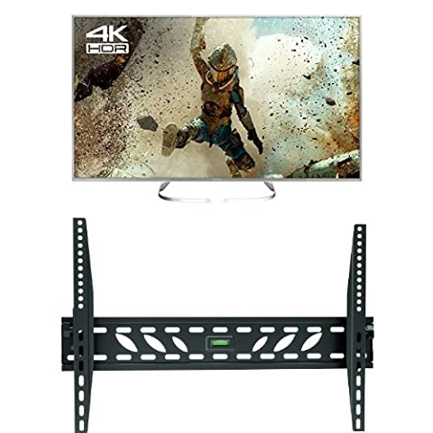 Panasonic TX-50EX700B 50-Inch 4K Ultra HD Smart LED TV with Invision Wall Mount Bracket