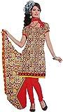 Majaajan Women's Cotton Self Print Unsti...