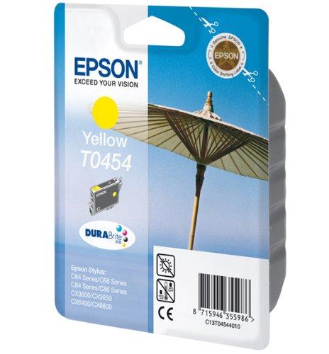Preisvergleich Produktbild Epson T0454 Tintenpatrone Sonnenschirm, Singlepack, gelb