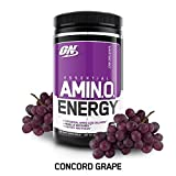 Optimum Nutrition Amino Energy 270 g Concorde Grape Muscle Recovery and Energ...