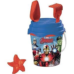 Mondo SPA-Marvel Heroes-Cubo Garni Avengers, 28438, 17cm