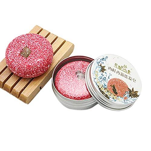 G-wukeer sapone shampoo al rosmarino, shampoo per capelli shampoo per capelli all'olio di pianta del cuoio capelluto di reveur, confezione in alluminio