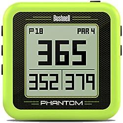 Bushnell Phantom GPS de Golf, Verde, Talla Única