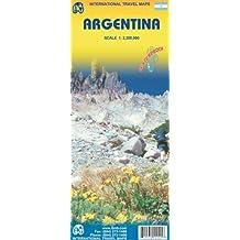Carte routière : Argentine